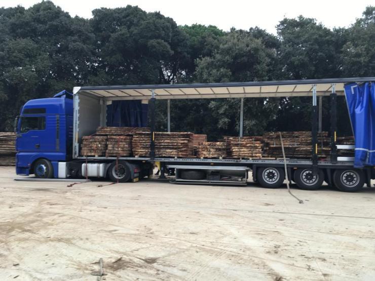 camion para Polonia